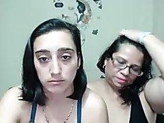 fuckin disgusting!!, Old mother with young trash whore daughter!