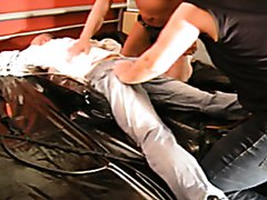 ripping + shaving + spanking