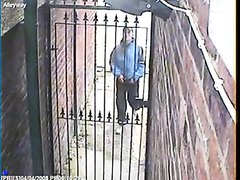 cctv scally piss