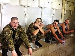COMERADERY: Military Men Shitting Together