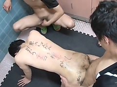4 Guys 1 Slave