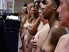 Naked ladies in prison have nice tits