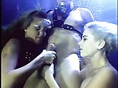 Hot underwater sex between two pornstars