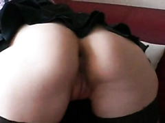 Wife gets pussy and ass licked