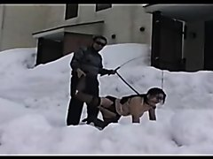 BDSM Snow in Japan
