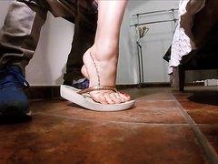 feet pov cuckold fuck