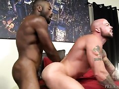 S*ean D*uran fucked by big black cock