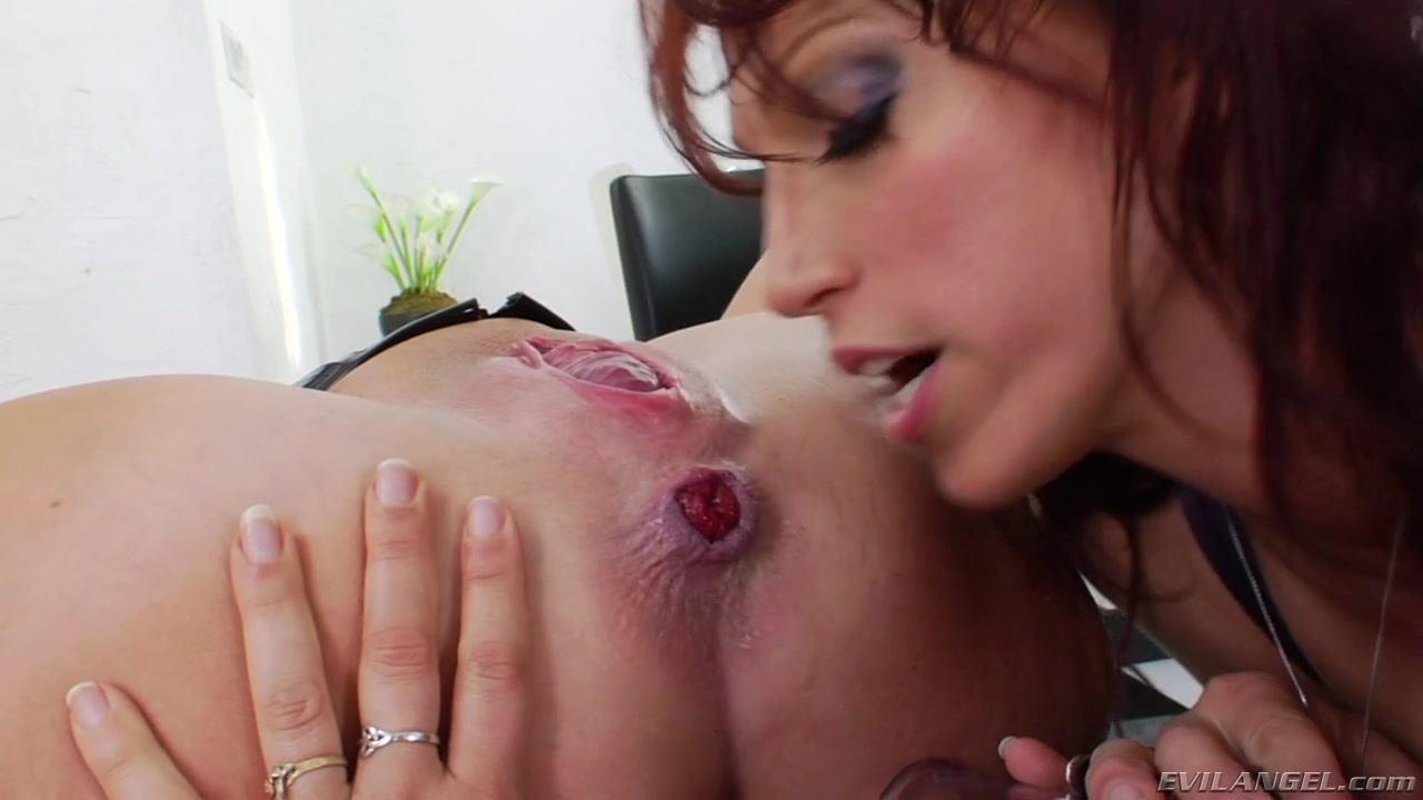 Lesbian Prolapse is Adored and Sucked