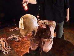 Scat pantyhose encasement 9