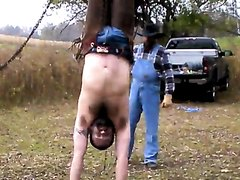 sillycowboys morning whipping upside down