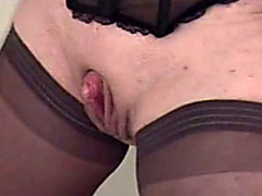Rubbing my dick on her big throbbing clit