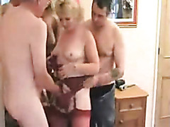 Hubby shares his sexy mature wife