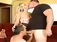 Bisexual forced cocksucking