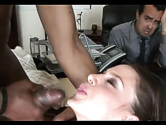 Interracial cuckold cumshot compilation with hot sluts