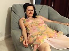 Pretty pregnant girl masturbates her sweet pussy