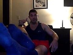 male foot tease - video 6