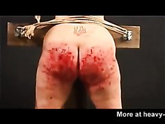 Extreme bloody ass whipping