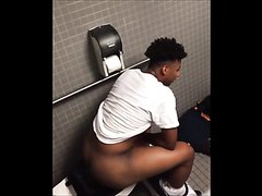 Black Man Pooping