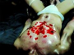 Scarllet wax drop