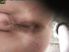 Close up rof well used pussy