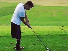 DAK playing golf