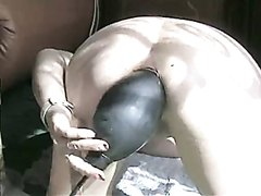 inflated dildo with scat