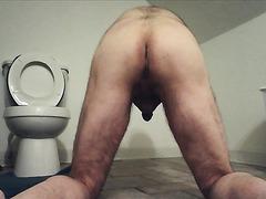 shitting on floor - video 2