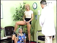 Hot Retro Group Pissing