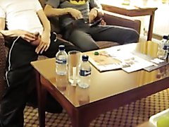 Two Alphas Pissing In A Hotel Room