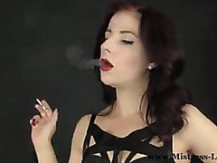 Smoking fetish clip!!