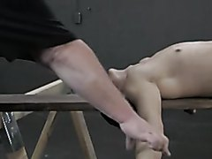 spread naked for whipping - video 2