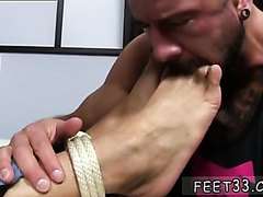 captive Dolf's foot sex