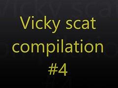 Vicky scat compilation 4