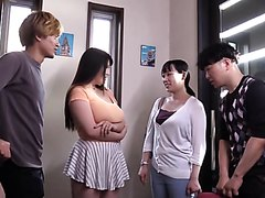 awesome big titted japanese gal