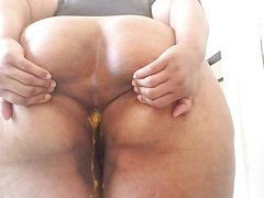 Shit collection messy ebony