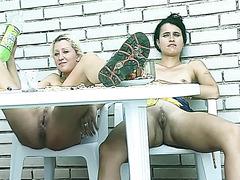 Lesbian Girls Pissing Peeing  Shitting Movies