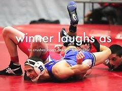 Wrestling Figure 4 headscissors - video 2