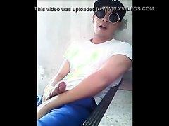 Thai guy cums a lot