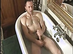 Hot Daddy Gets massaged and fucks  after bath