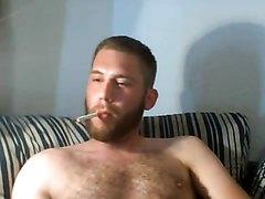 Sexy Smoker Hauls Deep