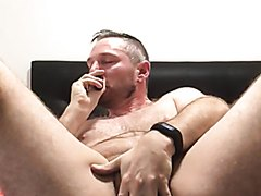 Poppers: Huffing Deep and Offering His Hole
