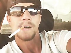 Smoking Redneck: Who Wants Him to Give You a Ride?