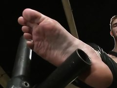 C... Wilde gives a foot job with his beautiful feet