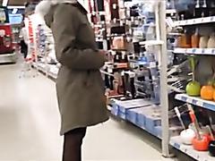Girl Gone Wild In Hardware Store