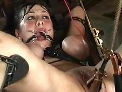 Extreme BDSM with a horny slut