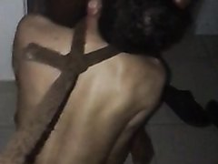 French Arabs macho sucked and humiliate queer