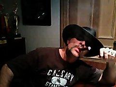 Hot cigar cowboy