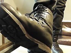 TRAILER German Army Boot Worship with Black Socks