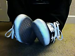 Vans, socks and feet