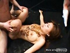 Jap scat gangbang sex